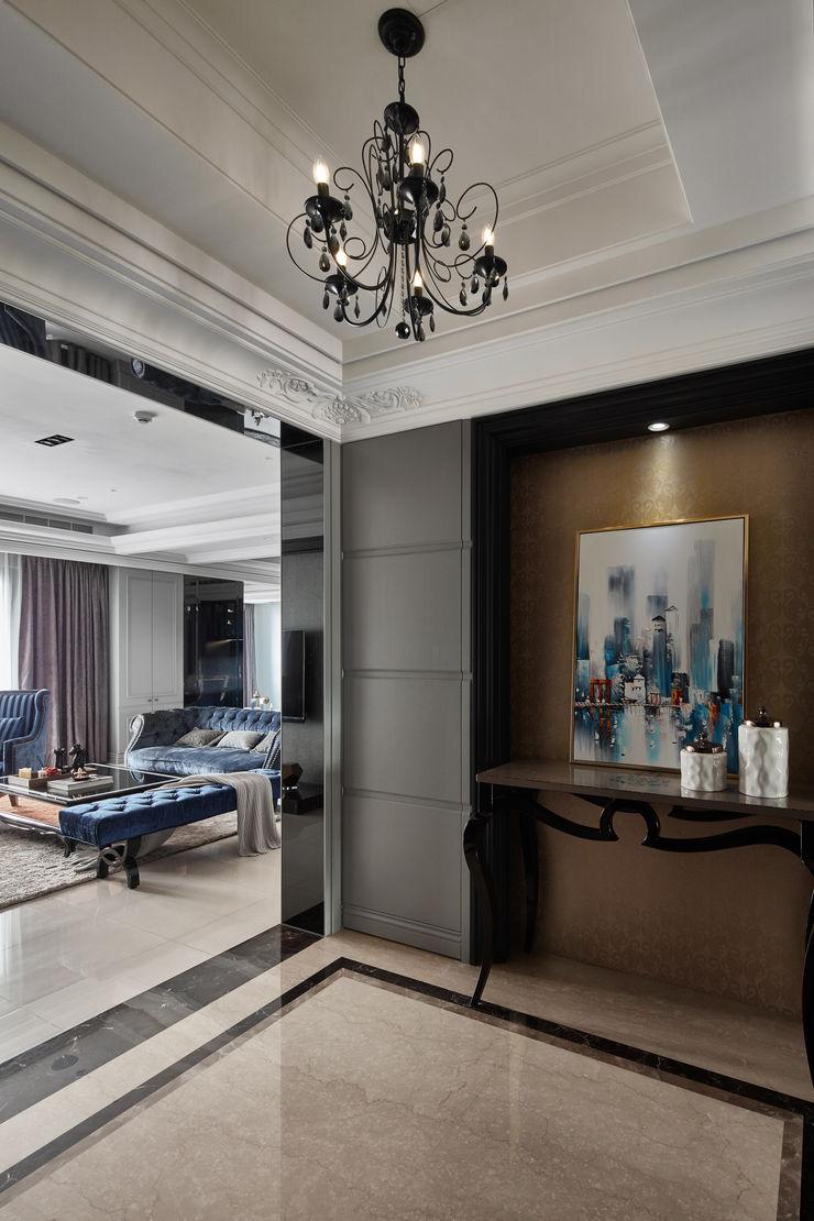 星葉室內裝修有限公司 Classic style corridor, hallway and stairs