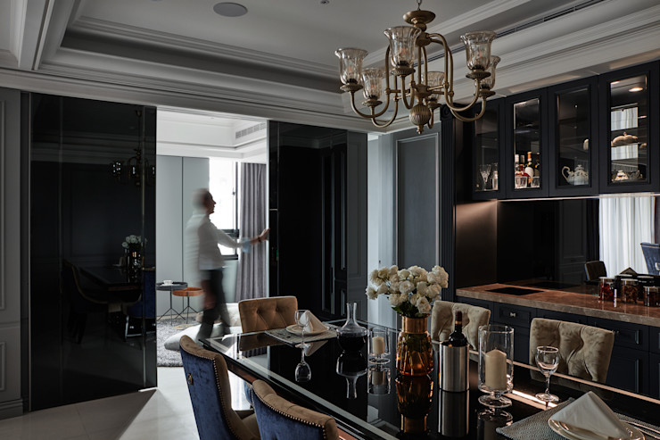 星葉室內裝修有限公司 Classic style dining room