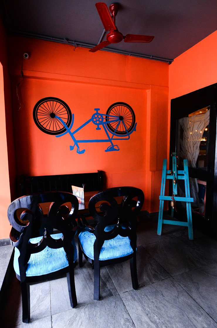 inverted cycle on the wall Design Tales 24