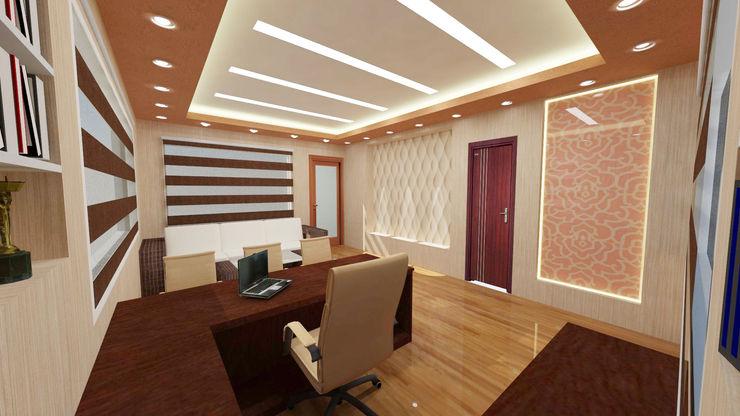 Design Tales 24 Estudios y despachos modernos Beige