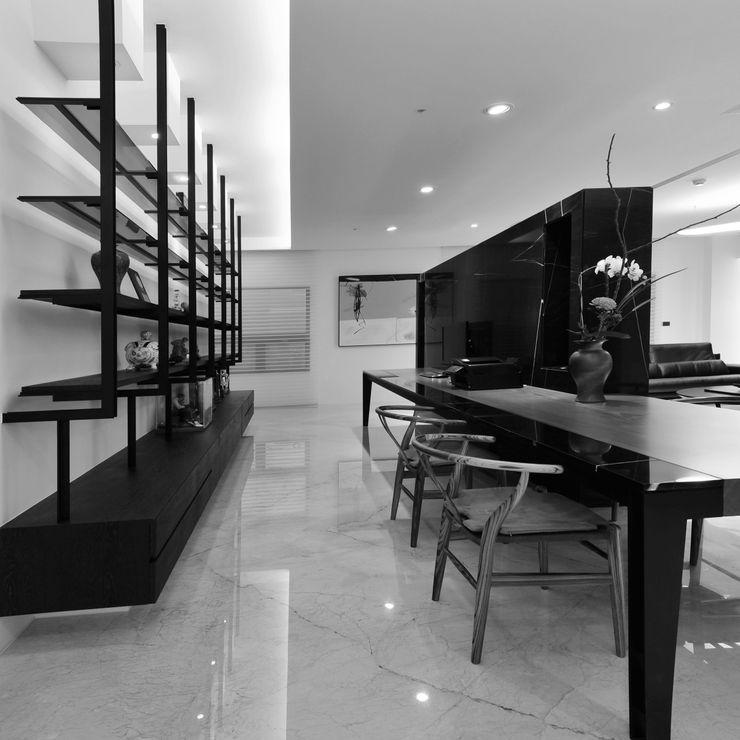室內設計 東方帝國 SC House 黃耀德建築師事務所 Adermark Design Studio 書房/辦公室