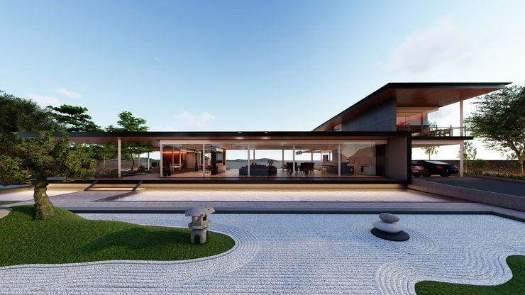 Ryujin Aeternite Asian style houses