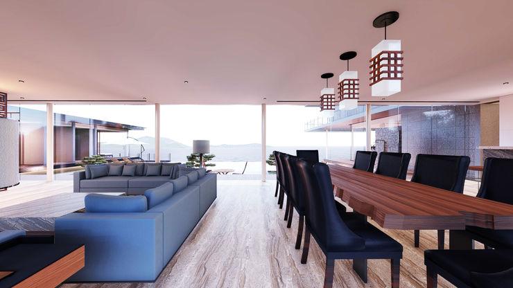 Ryujin Aeternite Asian style living room