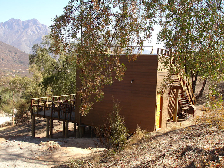 ARKITEKTURA Single family home Wood Beige