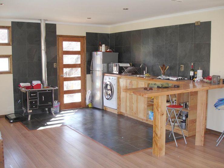 ARKITEKTURA Living room Wood Beige