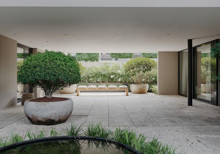 meier architekten zürich Balcon, Veranda & Terrasse modernes