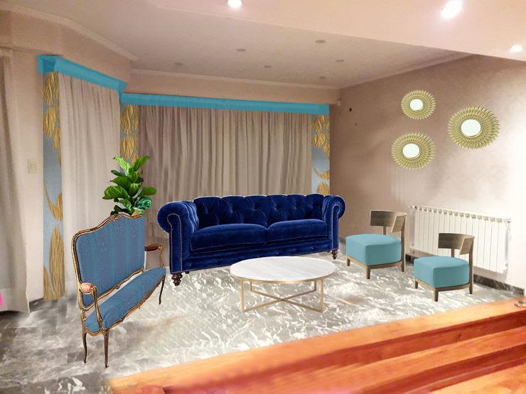 OOST / Sabrina Gillio Classic style living room