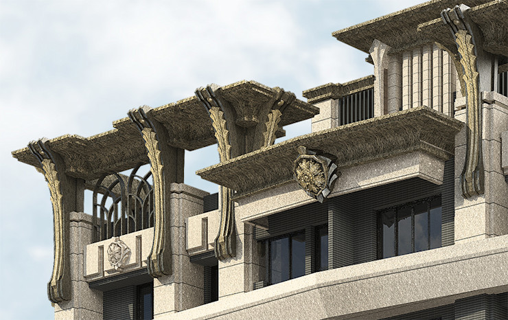 台北市萬華區案例 – 24層建築外觀設計&夜間4時段燈光計畫 雲展建築設計 Winstarts Architectural Design Group