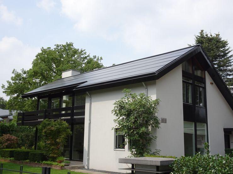 Geintegreerd zonnepanelen dak vrijstaande woning AERspire Schuin dak Glas