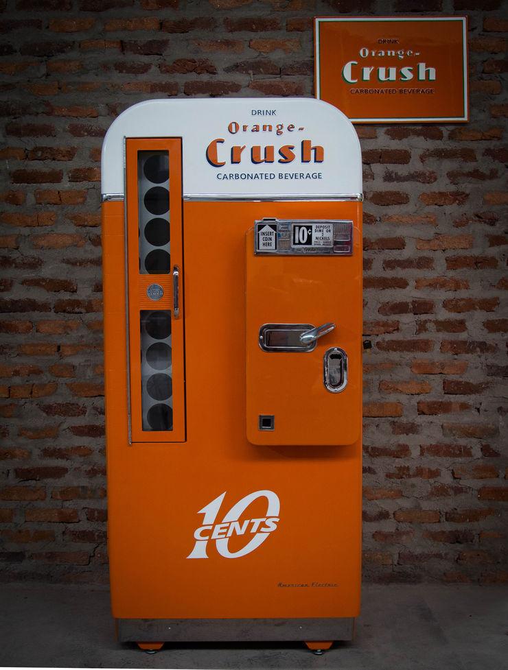 OldLook HouseholdLarge appliances Metal Orange