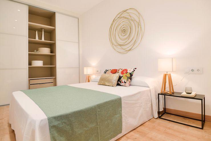 Dormitorio doble Markham Stagers Dormitorios de estilo moderno