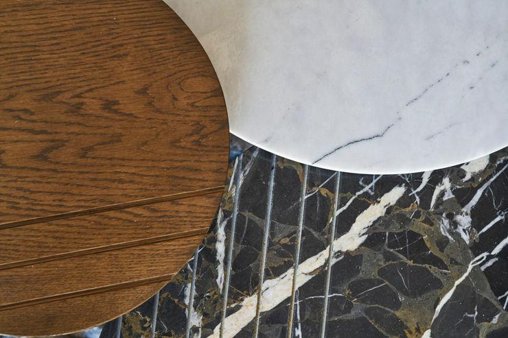 Bodrum Bodrum Esra Kazmirci Mimarlik Living roomSide tables & trays Wood Brown