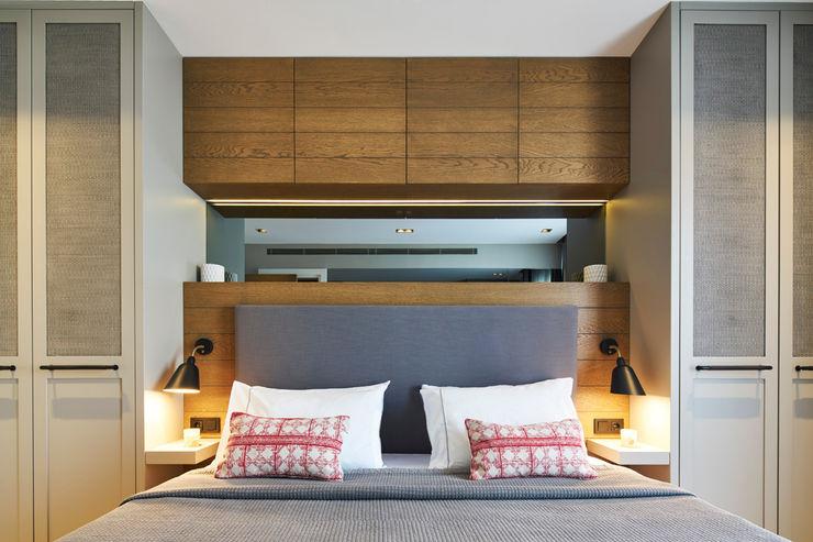 Bodrum Bodrum Esra Kazmirci Mimarlik Eclectic style bedroom Wood Brown