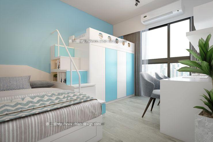 桃園黃宅 鼎士達室內裝修企劃 青少年房 Blue