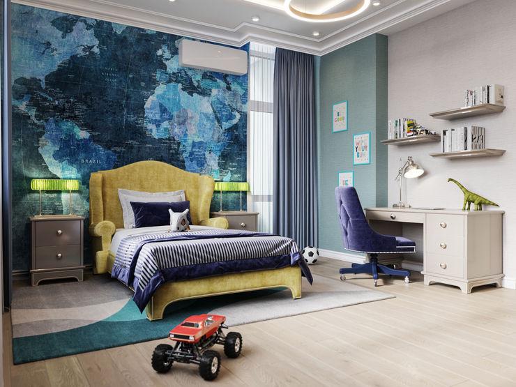 Дизайн интерьера Киев tishchenko.com.ua Дитяча кімната