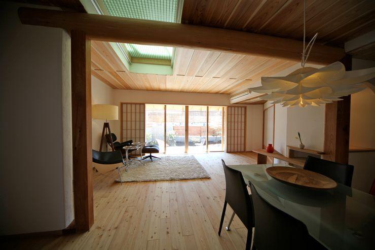 リビング 株式会社高野設計工房 和風デザインの リビング
