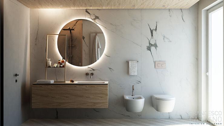 FRANCESCO CARDANO Interior designer Salle de bain industrielle