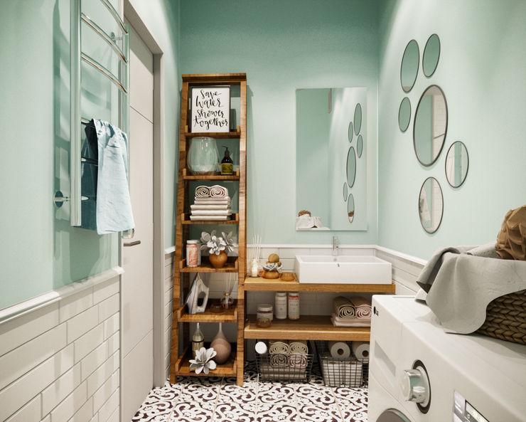 Vivo Family Cozy Ванная комната в скандинавском стиле