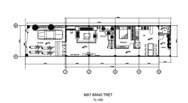 Công ty Thiết Kế Xây Dựng Song Phát Terrace house