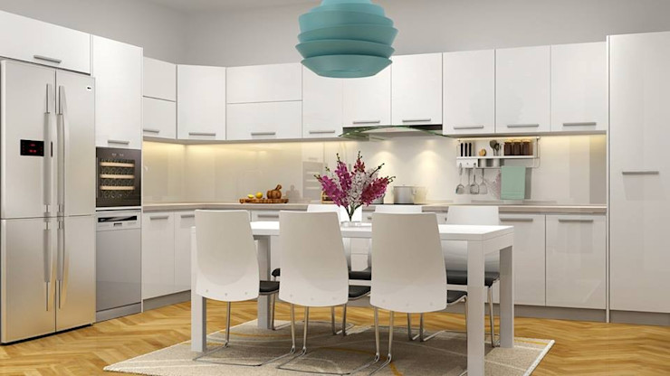 Công ty Thiết Kế Xây Dựng Song Phát Mediterranean style kitchen