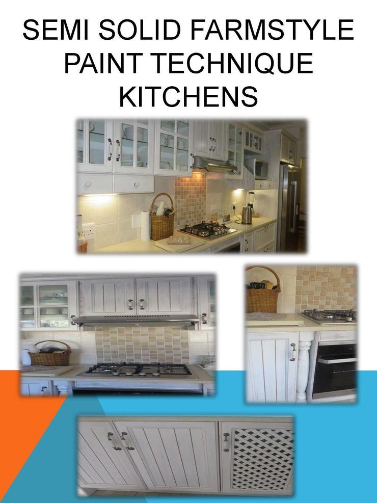Farmstyle paint technique kitchen SCD Group Kitchen units Solid Wood White