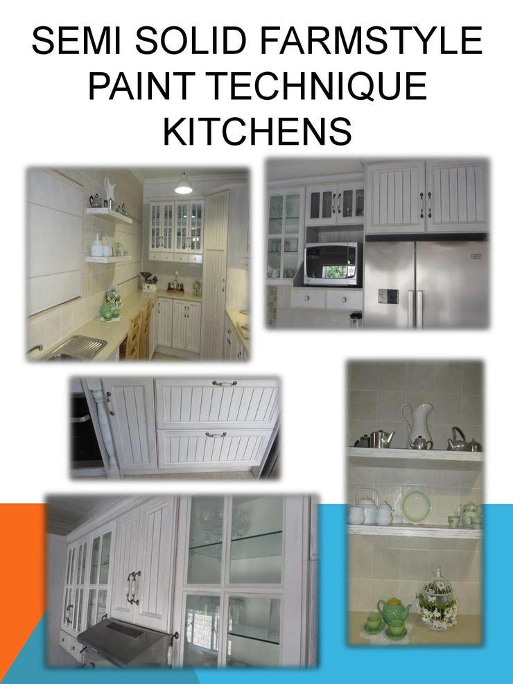 Farmstyle paint technique kitchen SCD Group Kitchen Solid Wood White