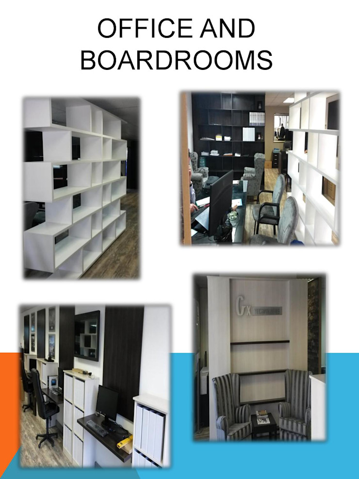 Offices SCD Group Modern Study Room and Home Office