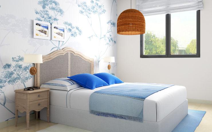 Taller de Interiores Mediterraneos Modern style bedroom