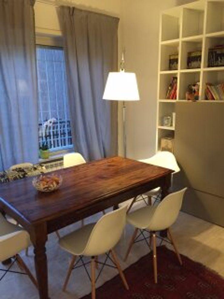 DUOLAB Progettazione e sviluppo Modern living room Pink