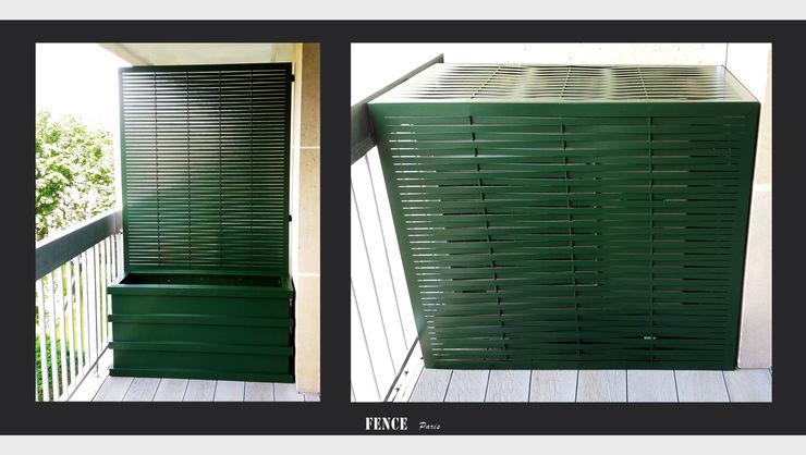 Panneaux - Tressage Fence Paris Balcon, Veranda & TerrasseEclairage