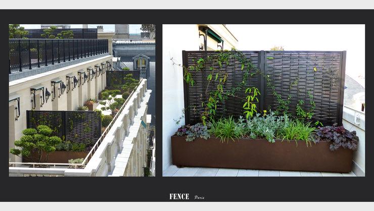 Panneaux – Tressage Fence Paris Balcon, Veranda & TerrasseMobilier