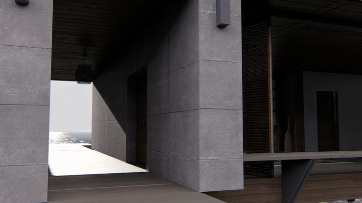 alexander and philips Villas Concrete Grey