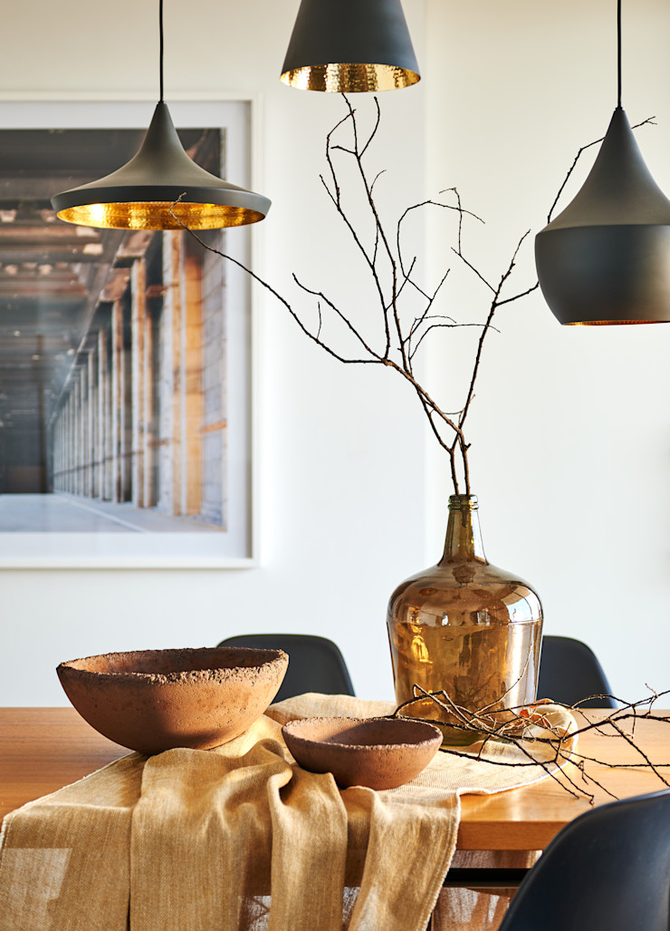YLAB Arquitectos Scandinavian style dining room