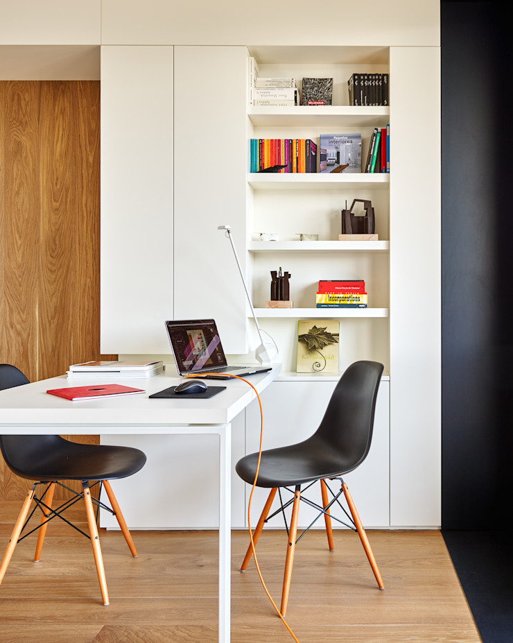 YLAB Arquitectos Scandinavian style study/office