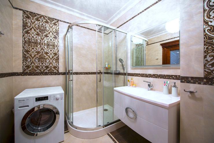 Реализованный дизайн-проект квартиры на Университете Style Home Ванная в классическом стиле