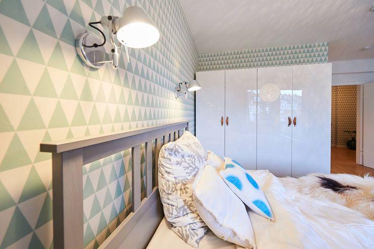 Möbliertes Appartement - Erholung und Regeneration Tschangizian Home Staging & Redesign Moderne Schlafzimmer