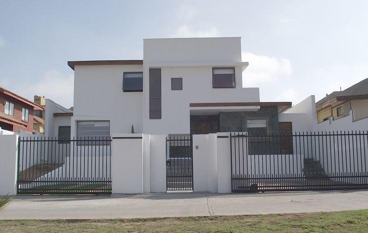 DISEÑO VIVIENDA MAC 220 Territorio Arquitectura y Construccion - La Serena Casas unifamiliares