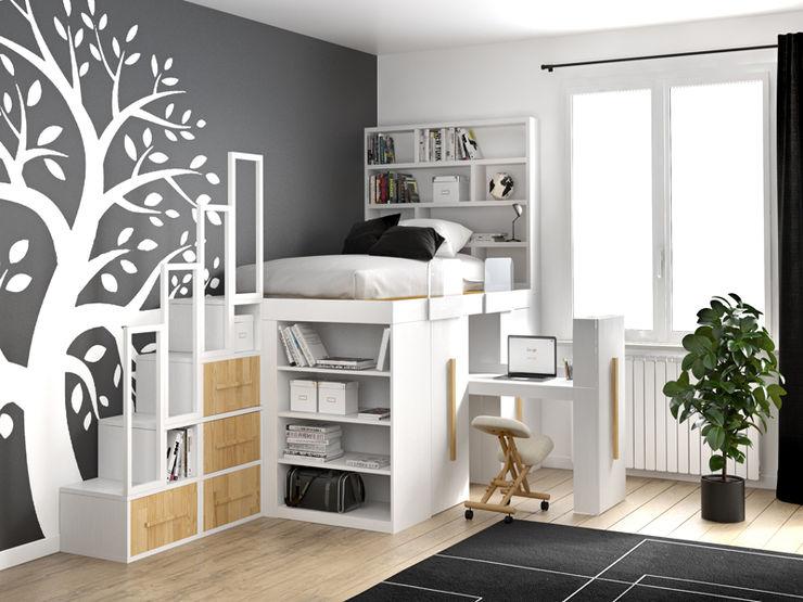 cinius s.r.l. SchlafzimmerBetten und Kopfteile Holz