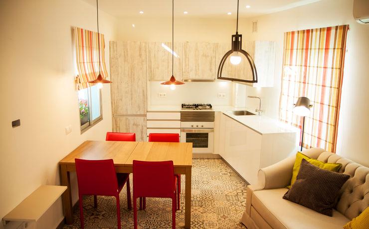 cocina DC PROJECTS Diseño de interior Málaga Salones de estilo moderno