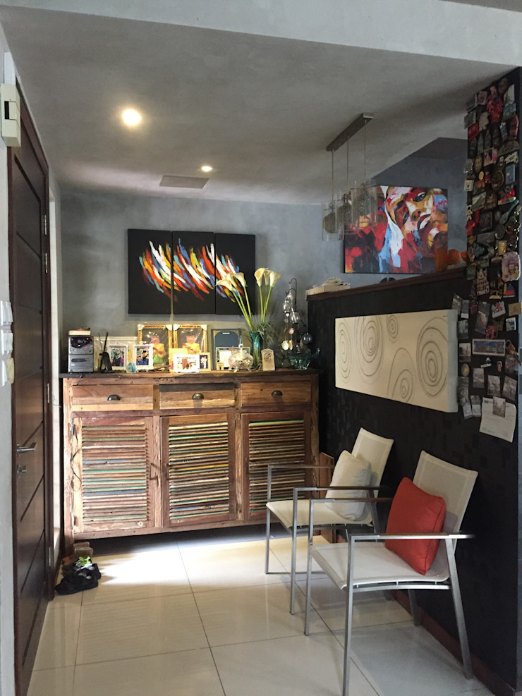 LI A'ALAF ARCHITECT Modern living room