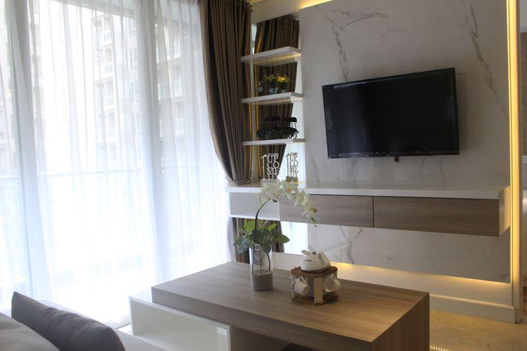 POWL Studio Salas de estar minimalistas