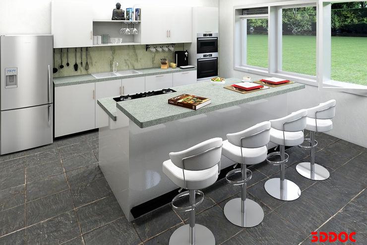 3DDOC Modern Mutfak