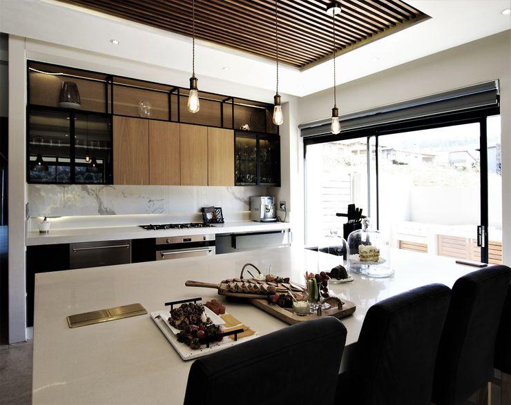 Kitchen Design JSD Interiors Modern kitchen Wood Grey