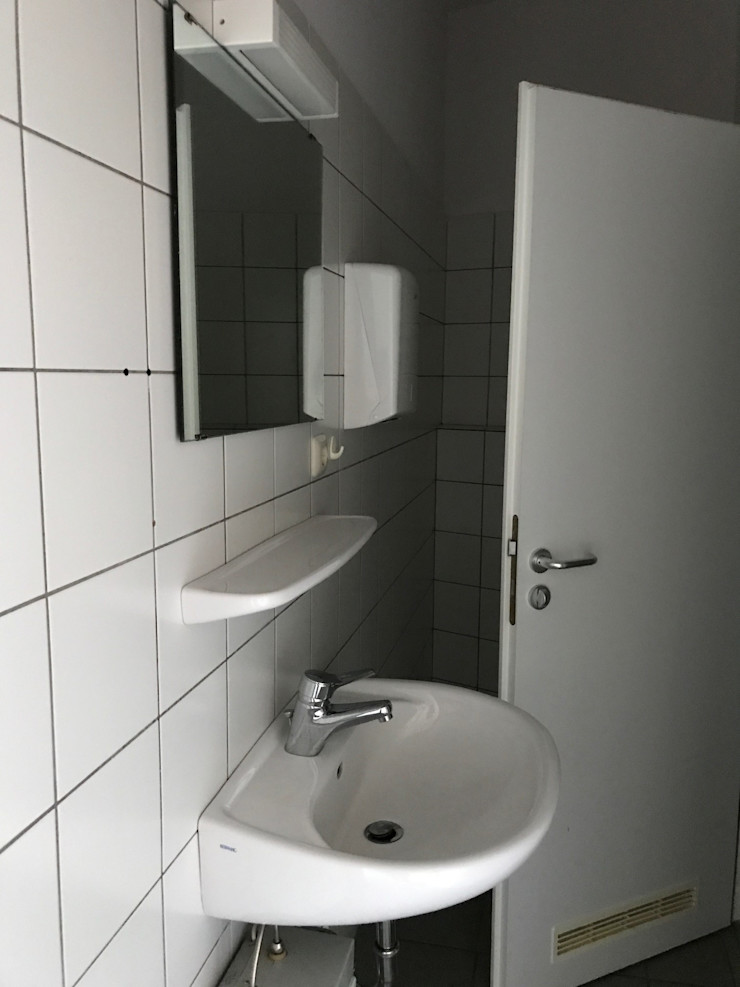 Office Staging - Toilette - VORHER Tschangizian Home Staging & Redesign