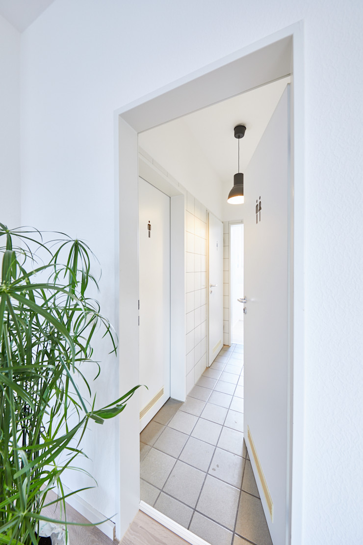 Office Staging - Toilette - NACHHER Tschangizian Home Staging & Redesign