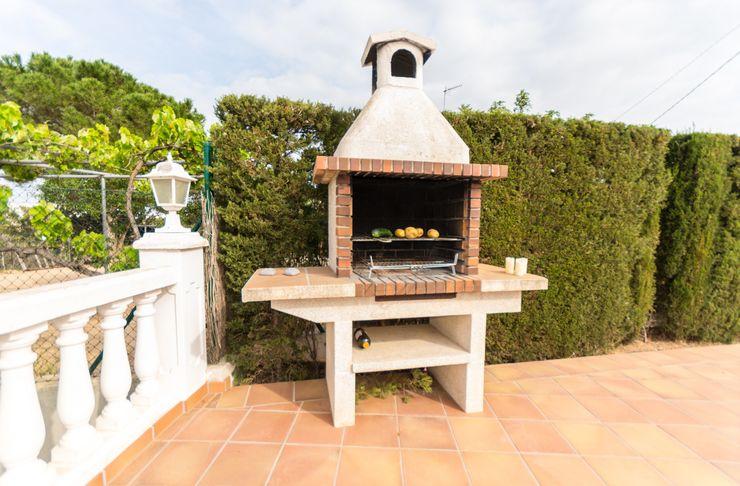 Home Staging en increíble chalet de L'Ampolla Home Staging Tarragona - Deco Interior Jardines de estilo mediterráneo