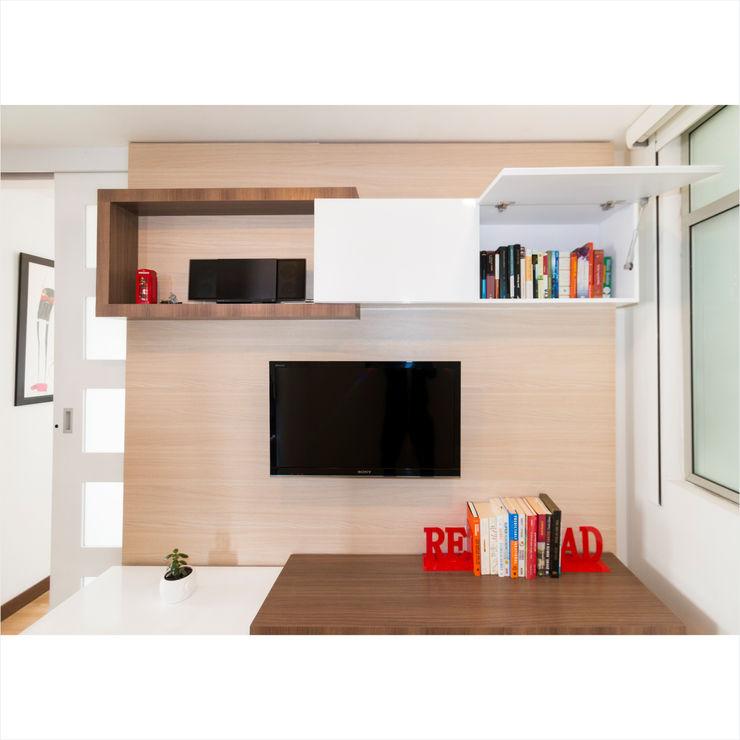 noc-noc Study/officeStorage Chipboard Wood effect