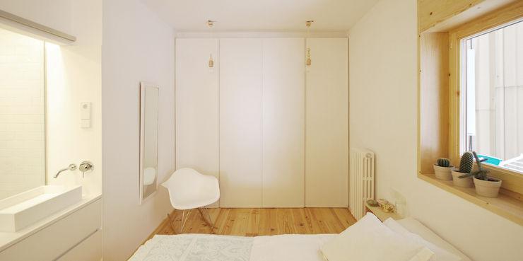 Dormitorio Principal homify Dormitorios de estilo escandinavo Blanco