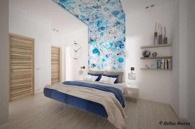 Nocera Kathia rendering progettazione e design Mediterranean style bedroom