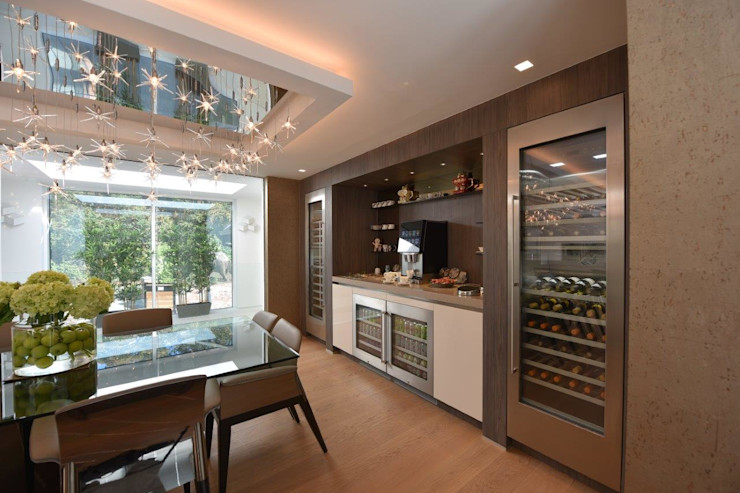 Mr & Mrs Unsworth Diane Berry Kitchens Built-in kitchens Wood effect
